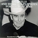 Bob Wills: 'Bob Wills & His Texas Playboys: For The Last Time' (United Artists Records, 1973)
