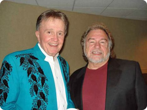Gene Watson & Bill Anderson at the Ryman Auditorium in Nashville on Friday 14 December 2007