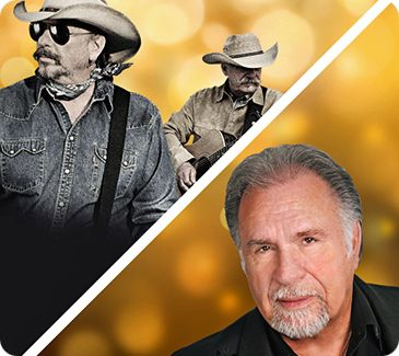 Gene Watson & The Bellamy Brothers (Howard & David Bellamy) at Golden Nugget Lake Charles Grand Events Center, 2550 Golden Nugget Boulevard, Lake Charles, LA 70601 on Friday 21 June 2019