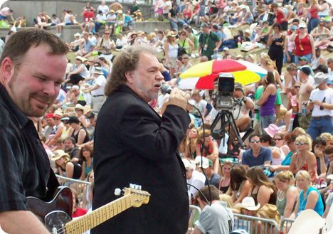 Gene Watson & The Farewell Party Band onstage at the CMA Festival in Nashville on Thursday 7 June 2007