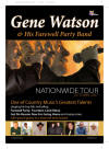 Promotional Flyer for Gene Watson's Irish Tour in 2007