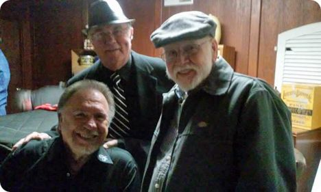 Gene Watson with Jim Blackstock and A.V. Mittelstedt at Dosey Doe's in The Woodlands, Texas on Thursday 13 November 2014