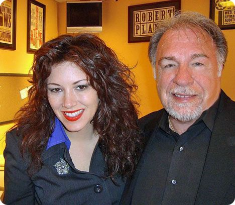 Gene Watson with Mandy Barnett at the Opry Country Classics Show in Nashville on Thursday 8 April 2010