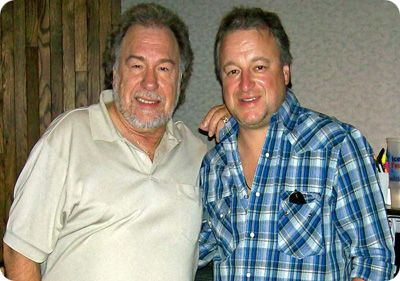Gene Watson & Mark Chesnutt at the Curb Studio in Nashville on Thursday 7 June 2007