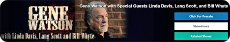 Gene Watson & The Farewell Party Band at American Music Theatre, 2425 Lincoln Highway East, Lancaster, PA 17602 on Sunday 21 July 2019
