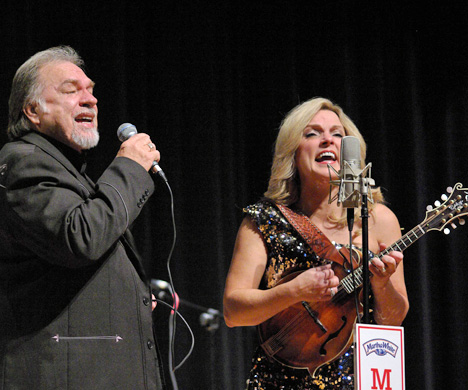 Gene Watson & Rhonda Vincent / Photo Credit: Micah Henry, The Taylorsville Times