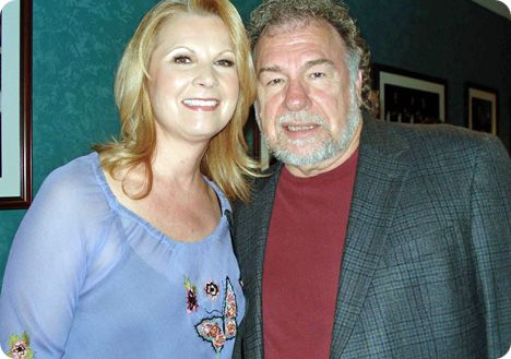 Gene Watson with Patty Loveless backstage at the Grand Ole Opry in Nashville on Friday 18 May 2007