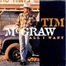 Tim McGraw: 'All I Want' (Curb Records, 1995)
