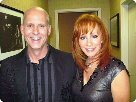 Bruce C. Bouton and Reba McEntire