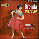 Brenda Lee: 'Brenda, That's All' (Decca Records, 1962)