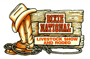Dixie National Livestock & Rodeo, Mississippi Coliseum,  1207 Mississippi Street, Jackson, MS 39202