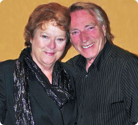 Diana Trask & Frank Ifield (photo courtesy of Terry Phillpot)
