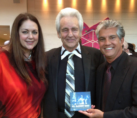 Donna Ulisse and Jerry Salley meet with bluegrass icon Del McCoury in Raleigh, North Carolina at The International Bluegrass Music Awards in October 2013 and thank him for recording 'Butler Brothers' (written by Donna Ulisse and Jerry Salley), which is a song about two brothers fighting on different sides in the American Civil War and the struggle of their mother having two sons in a war on opposing sides.