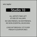 Eric Taylor: 'Studio 10' (Blue Ruby Music, 2013)