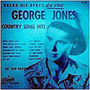 George Jones:'Grand Ole Opry's New Star' (Starday Records, 1956)