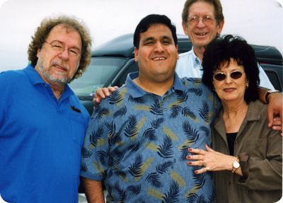 Gene Watson with Justin Trevino, Dave Kirby (Sunday 10 July 1938 - Saturday 17 April 2004) and Leona Williams