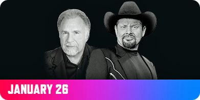 Gene Watson and Moe Bandy at Choctaw Casino & Resort, Choctaw Event Center, 1516 US Highway 271, Grant, OK 74738 on Friday 26 January 2018