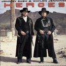 Johnny Cash & Waylon Jennings: 'Heroes' (Columbia Records, 1986)