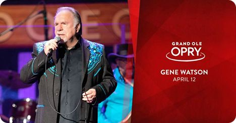 Gene Watson at The Grand Ole Opry, Opry House, 2804 Opryland Drive, Nashville, TN 37214 on Friday 12 April 2019