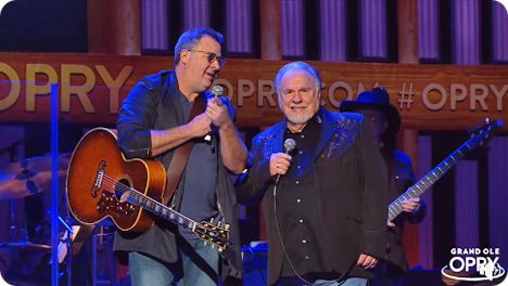 On Friday 17 January 2020, Vince Gill invited Gene Watson to become the newest member of The Grand Ole Opry in Nashville