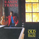 Randy Travis: 'Old 8x10' (Warner Bros. Records, 1988) (United Kingdom album cover)