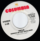 Shylo: 'Drinkin' My Way Back Home', which was written by Don Scaife, Ronny Scaife (1947 - Wednesday 3 November 2010) and Phil Thomas; the track, which was a non-album cut on Columbia Records, reached No.63 on the Billboard country music singles chart in 1977