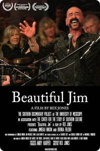 'Beautiful Jim' / Award-winning & critically acclaimed University of Mississippi documentary of Jimbeau Hinson's life, which was produced in 2013, following the release of Jimbeau Hinson's 'Strong Medicine' (Wrinkled Records, 2013)