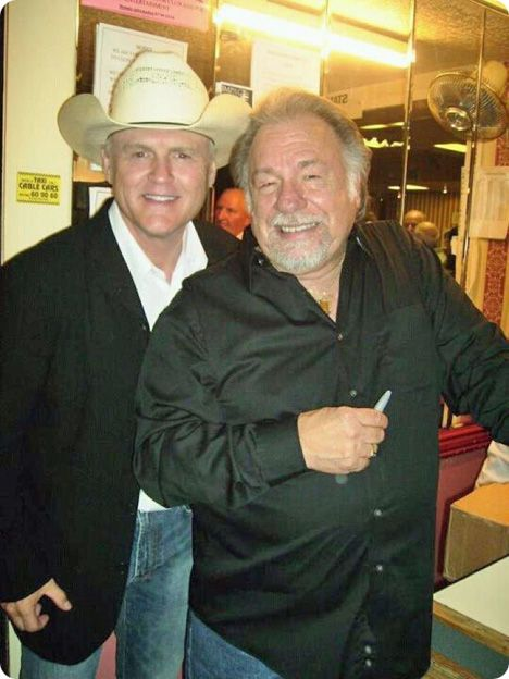 Jerry Kilgore & Gene Watson at Queen's Hall in Watton, Norfolk, England on Monday 9 July 2012