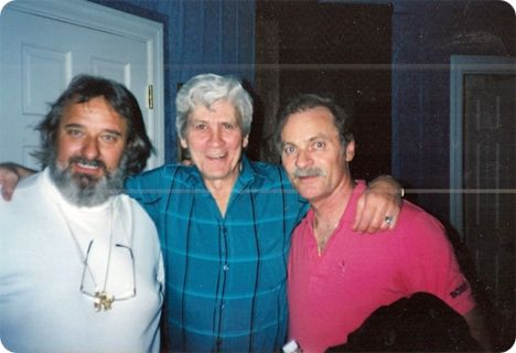 Jim Vest pictured with Max D. Barnes (Friday 24 July 1936 - Sunday 11 January 2004) and Vern Gosdin (Sunday 5 August 1934 - Tuesday 28 April 2009)