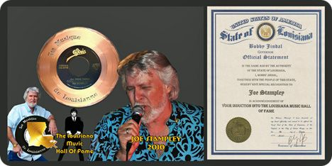 Louisiana Music Hall of Fame: Joe Stampley, 2010 Inductee