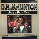 Obie Burnett McClinton: 'Just For You' (CBS Special Products, 1988)