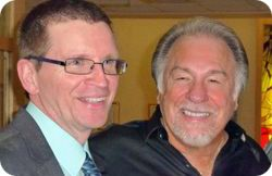 Sean Brady with Gene Watson in Armagh, Northern Ireland, on Tuesday 15 October 2013