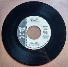 Zella Lehr: 'I Can't Help Myself' (written by Even Stevens and Eddie Rabbitt) (Mega Records - United States - 1975)
